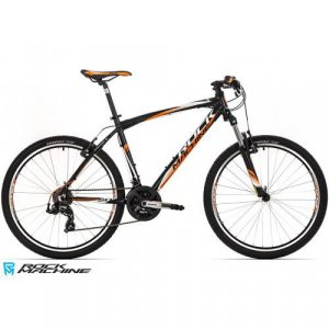 "bicykel Rock Machine Manhattan 50 - 26"" black/orange"