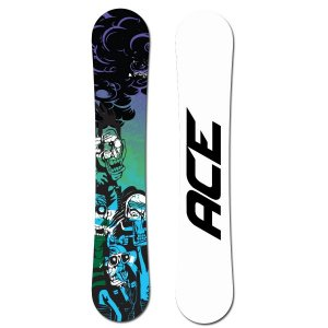 snowboard ACE Dark Force White