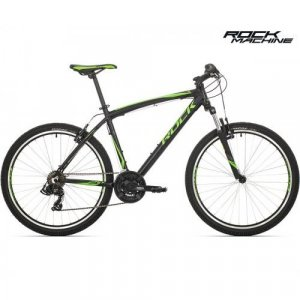"bicykel Rock Machine Manhattan 30 - 26"" black/green"