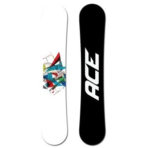 snowboard ACE Crusader White