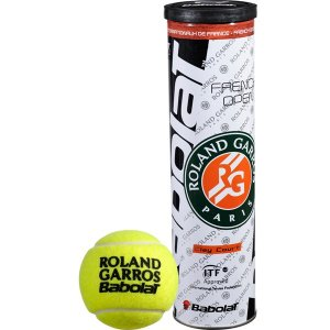 loptičky Babolat BALLS French Open X4