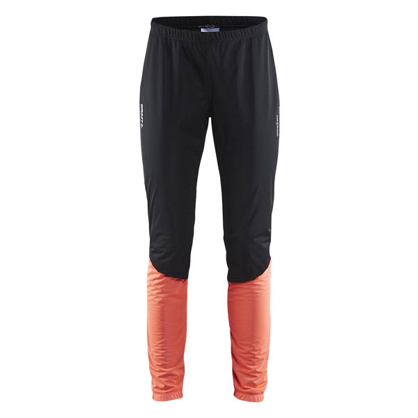 4ee5073ab dámske bežkárske nohavice Craft Storm 2.0 čierne s ružovou [1904259 ...